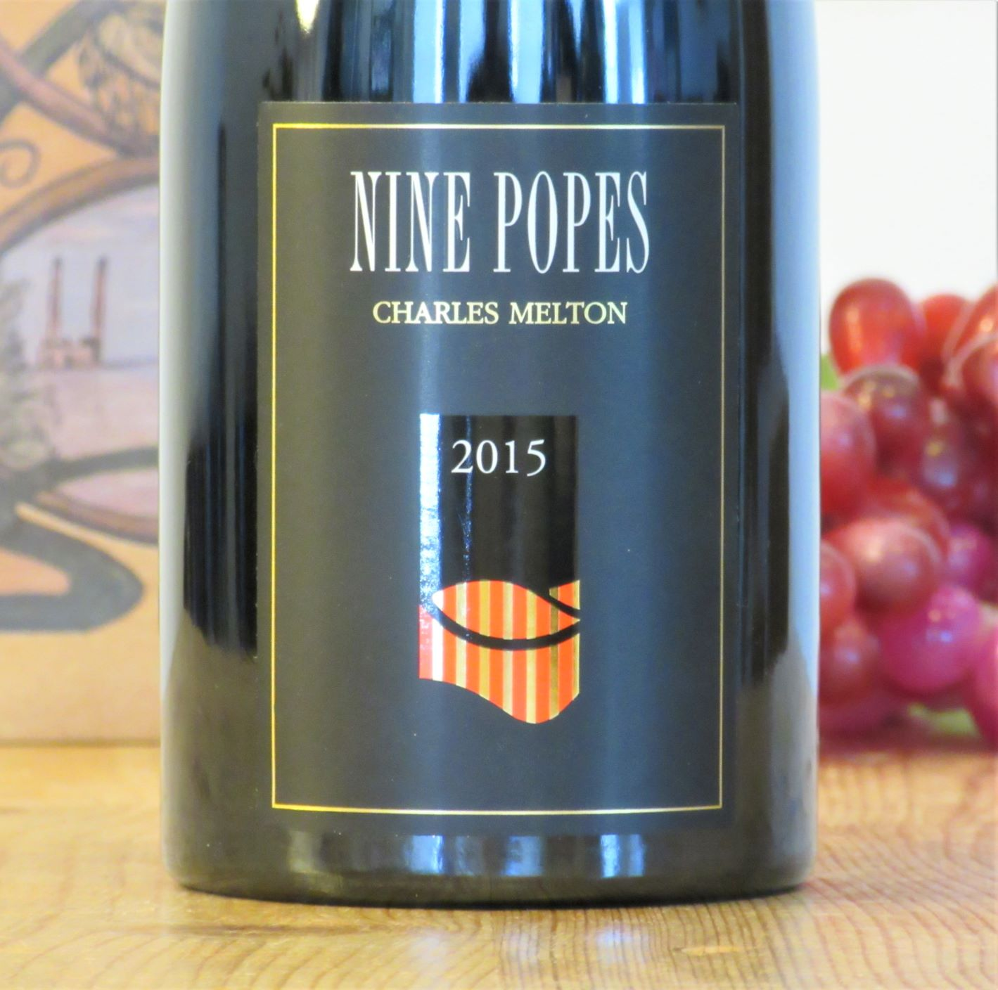 Charles Melton Nine Popes 2015