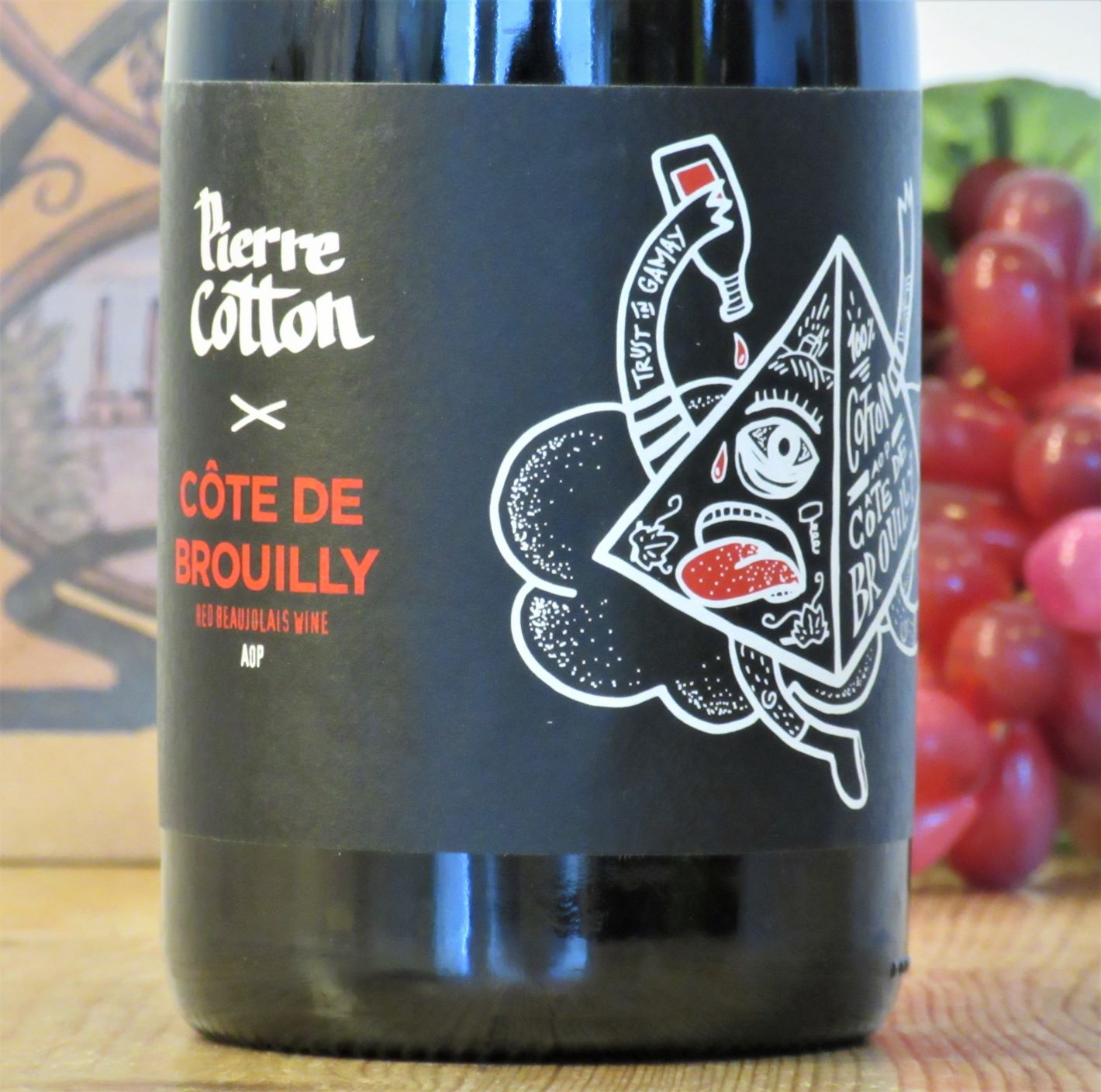 Pierre Cotton Cote de Brouilly