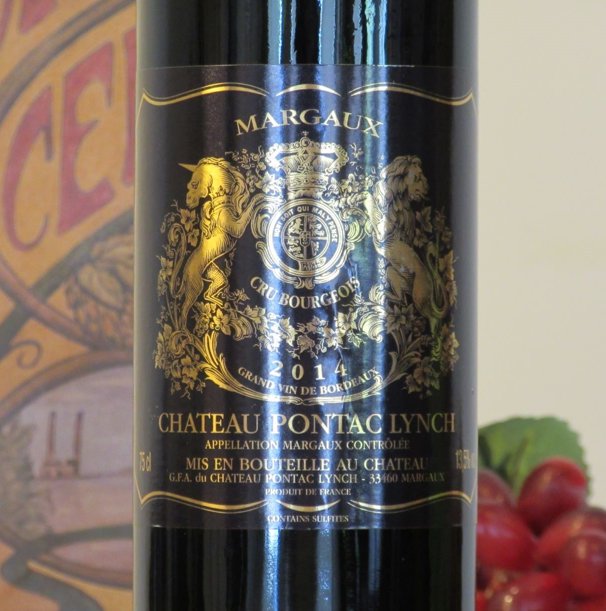 Chateau Pontac Lynch Margaux 2016