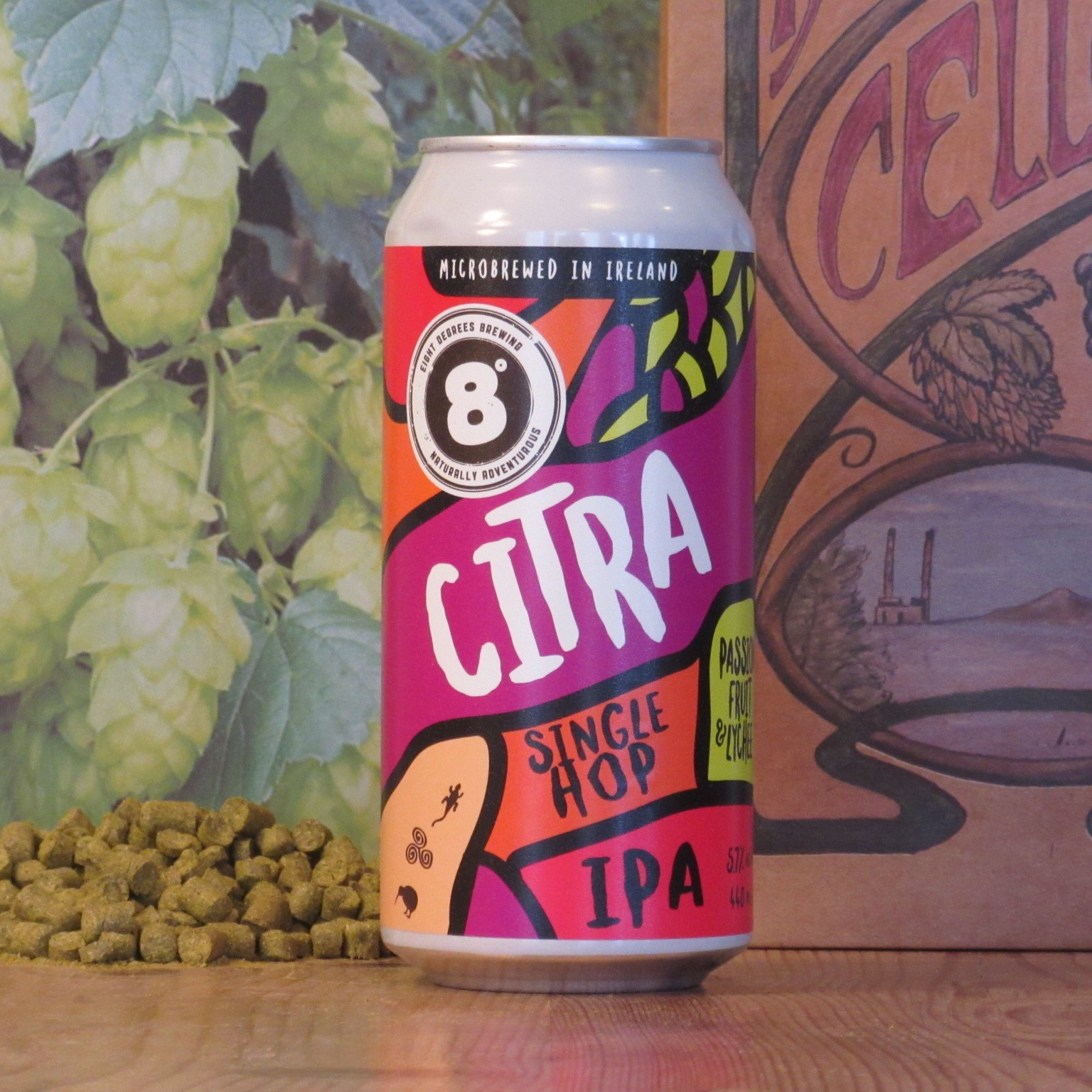 Eight Degrees Citra Single Hop IPA
