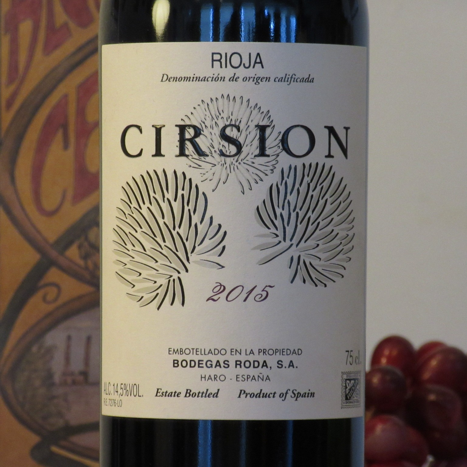 Bodegas Roda 'Cirsion' 2015