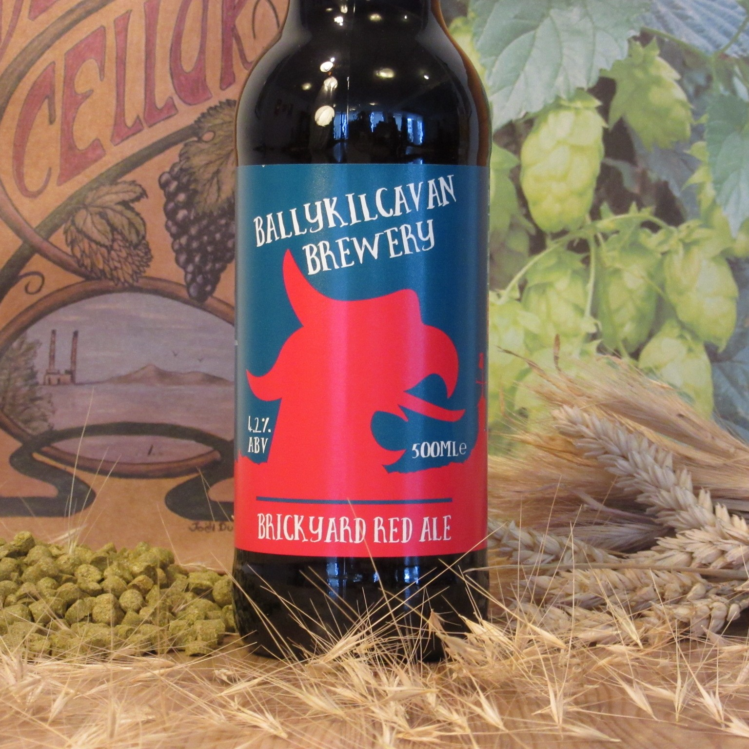 Ballykilcavan Brickyard Red Ale
