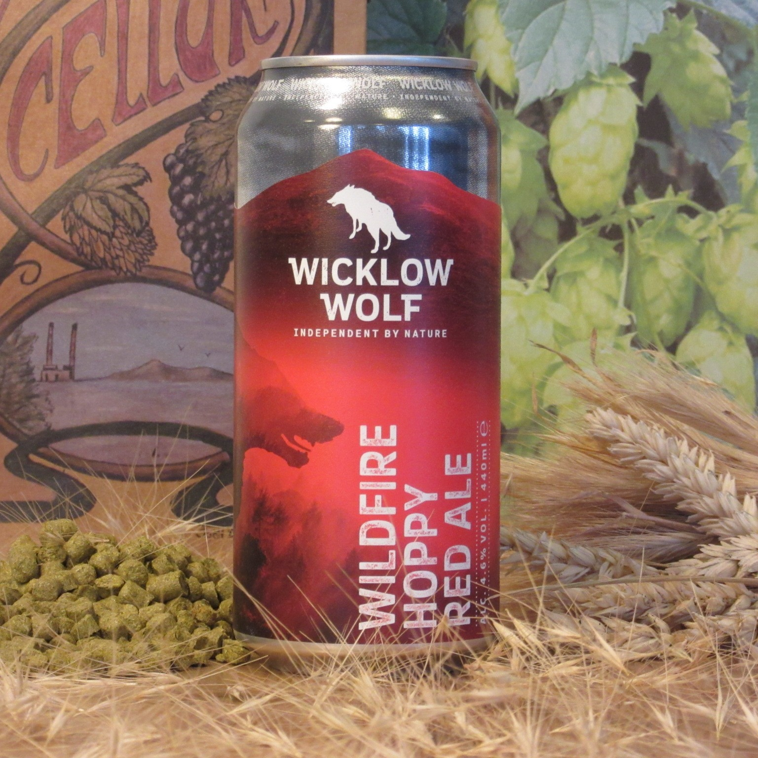 Wicklow Wolf Wildfire Hoppy Red Ale