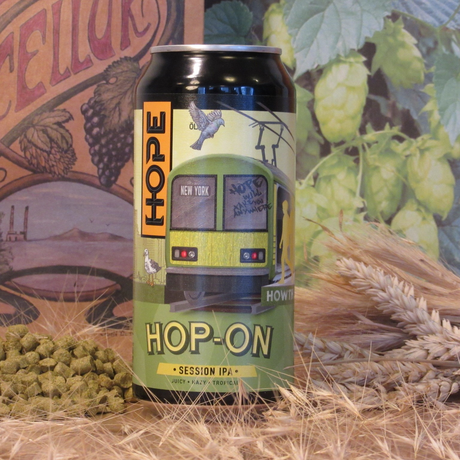 Hope Hop On Session IPA