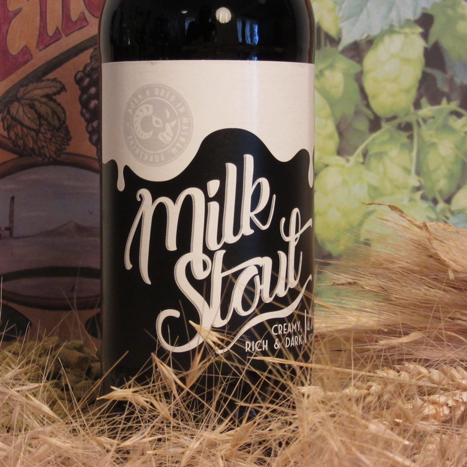 Black Sheep Milk Stout