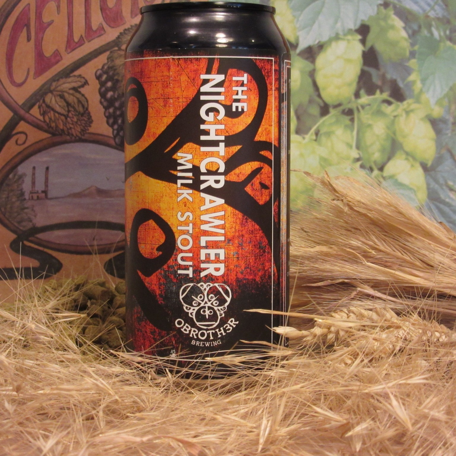 O Brother The Nightcrawler Milk Stout