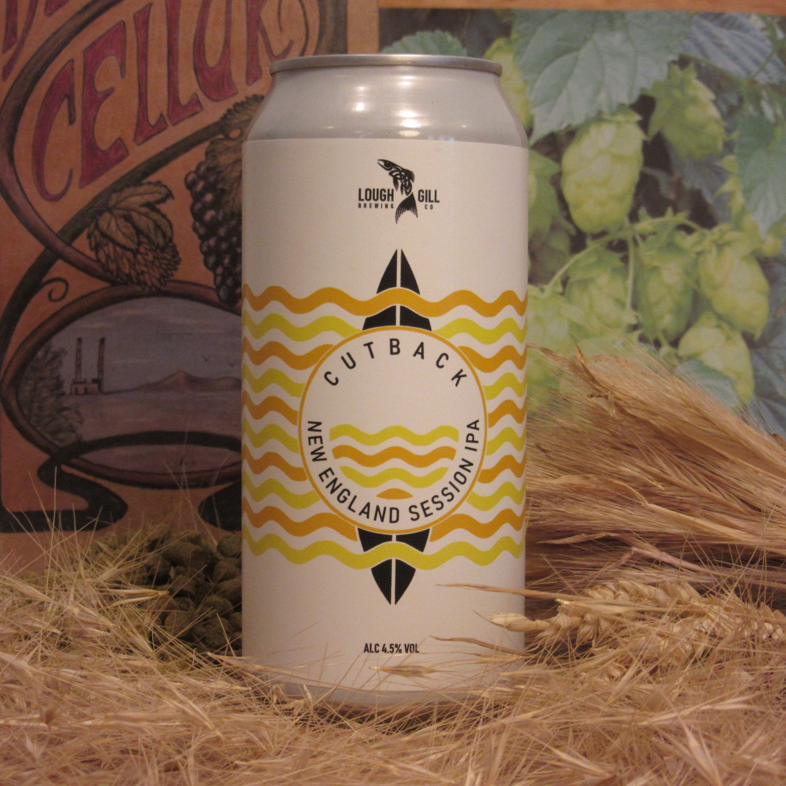 Lough Gill Cutback New England Session IPA