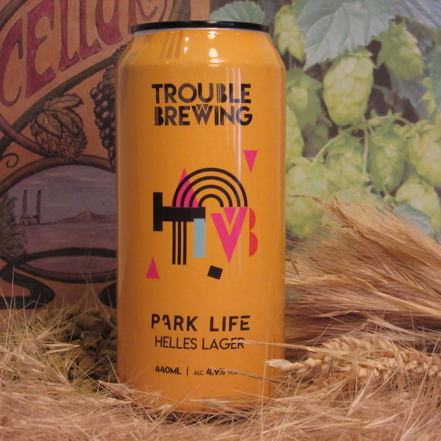 Trouble Brewing Park Life Helles Lager